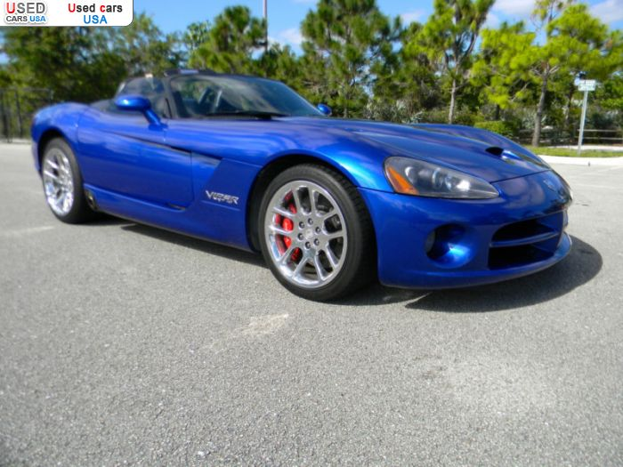 Car Market in USA - For Sale 2006  Dodge Viper