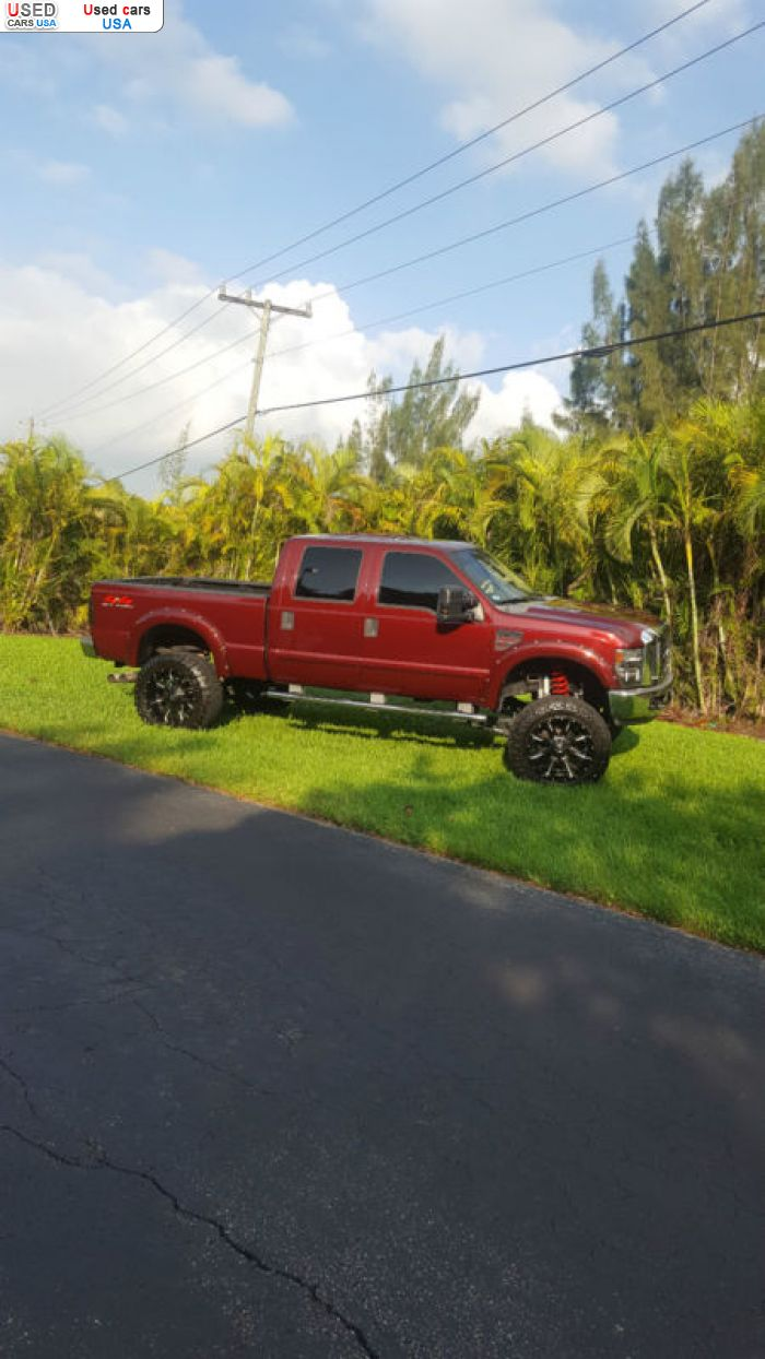 Car Market in USA - For Sale 2008  Ford F 250