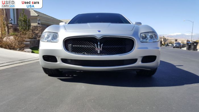 Car Market in USA - For Sale 2007  Maserati Quattroporte