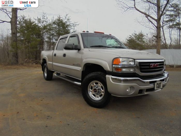 Car Market in USA - For Sale 2005  GMC