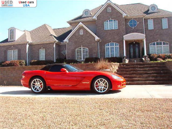 Car Market in USA - For Sale 2005  Dodge Viper