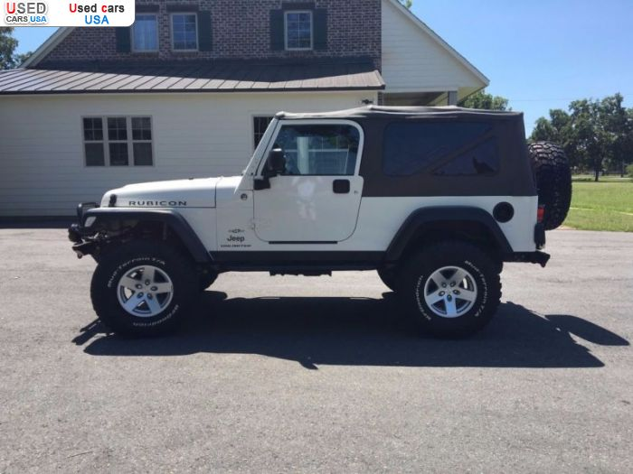 Car Market in USA - For Sale 2006  Jeep Wrangler