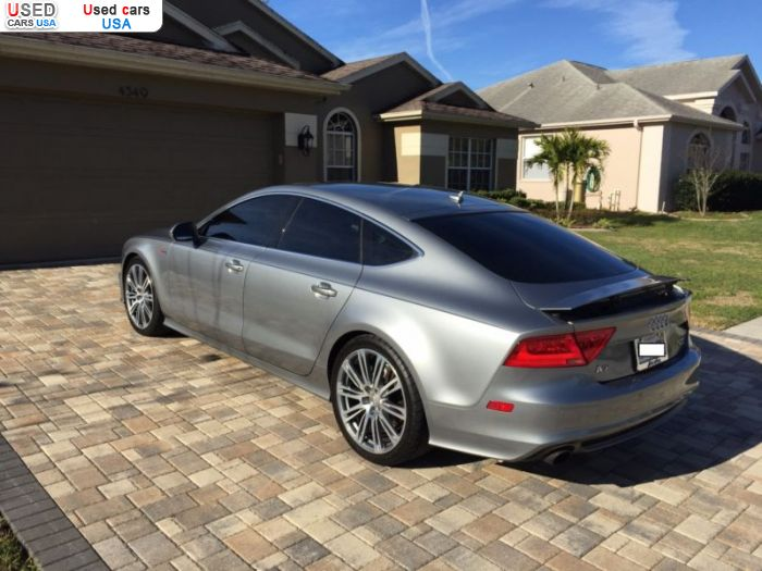 Car Market in USA - For Sale 2012  Audi A7