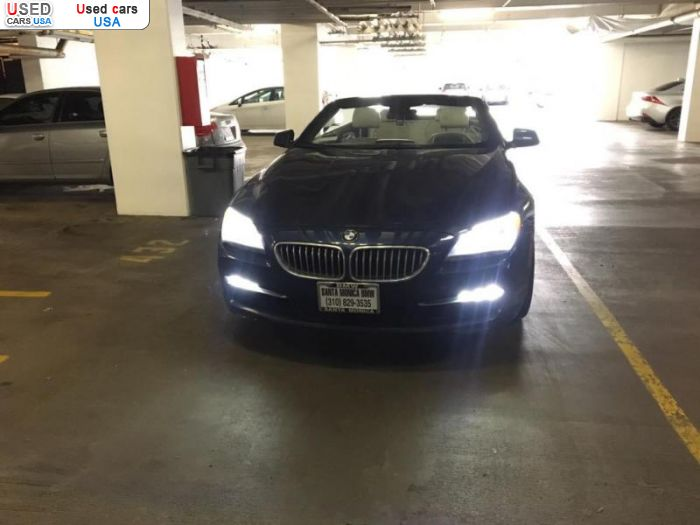 Car Market in USA - For Sale 2012  BMW 6 Series