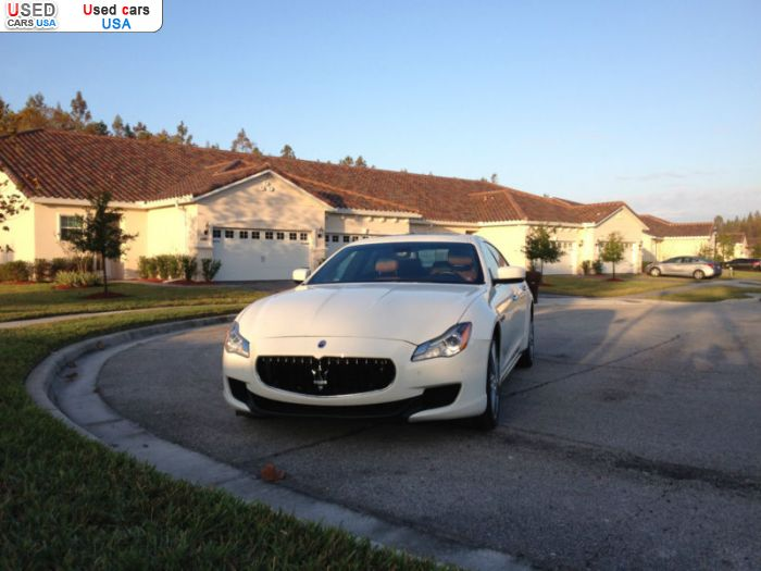 Car Market in USA - For Sale 2014  Maserati Quattroporte