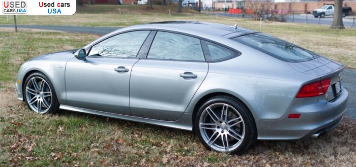 Car Market in USA - For Sale 2014  Audi S7