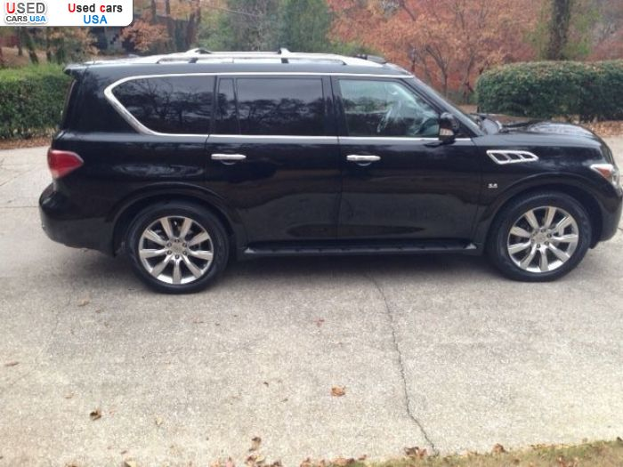 Car Market in USA - For Sale 2014  Infiniti