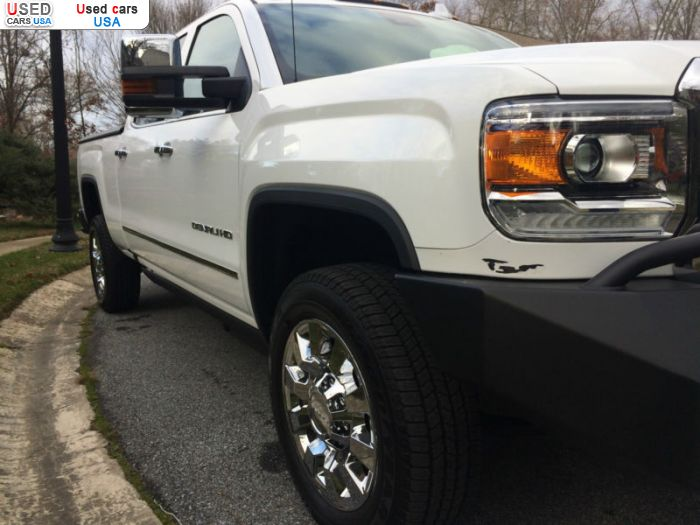 Car Market in USA - For Sale 2016  GMC
