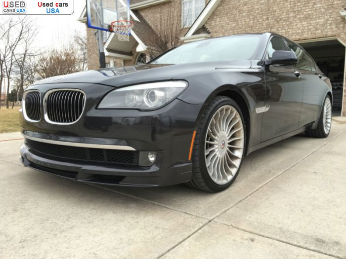 Car Market in USA - For Sale 2012  BMW 7 Series