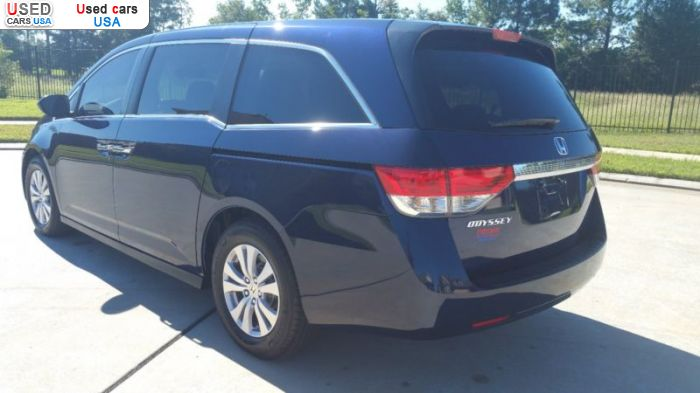 Car Market in USA - For Sale 2016  Honda Odyssey