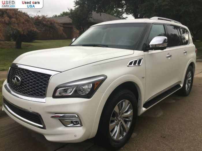 Car Market in USA - For Sale 2016  Infiniti