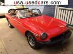 Car Market in USA - For Sale 1978  MG MGB