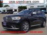 Car Market in USA - For Sale 2017  Dodge Durango Citadel