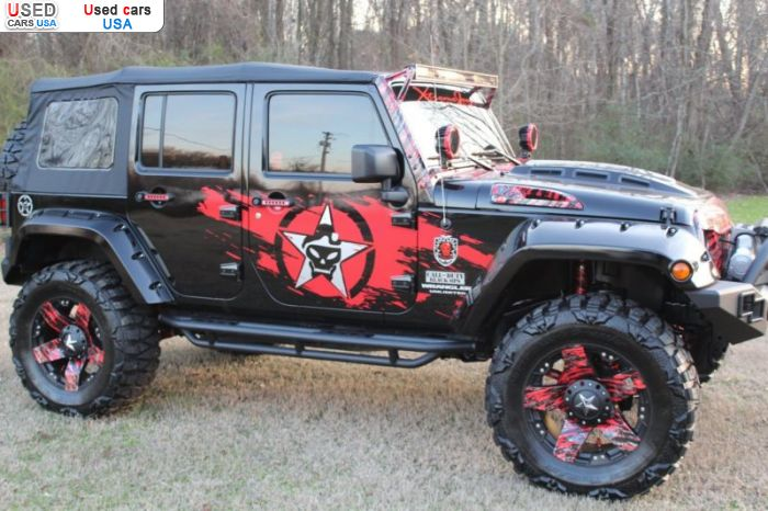 Car Market in USA - For Sale 2016  Jeep Wrangler