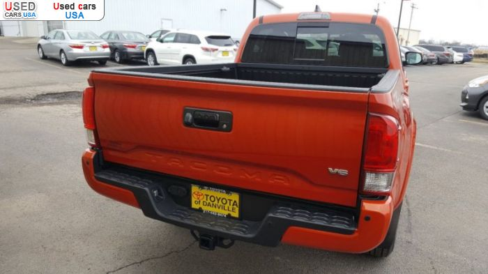 Car Market in USA - For Sale 2017  Toyota Tacoma