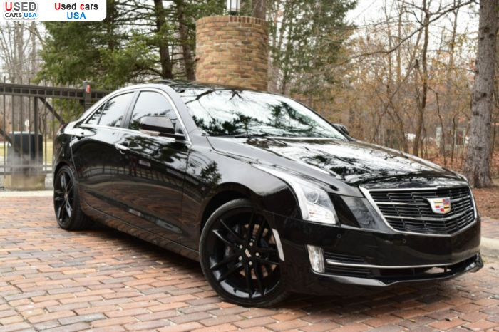 Car Market in USA - For Sale 2016  Cadillac ATS