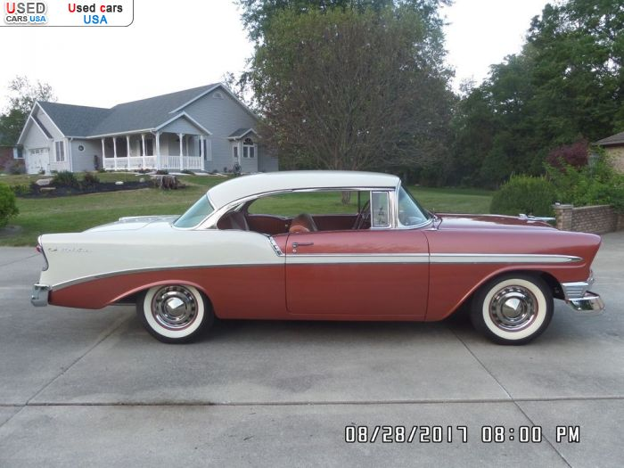 Car Market in USA - For Sale 1956  Chevrolet Bel Air