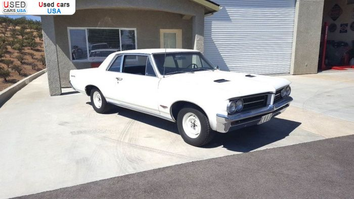 Car Market in USA - For Sale 1964  Pontiac GTO