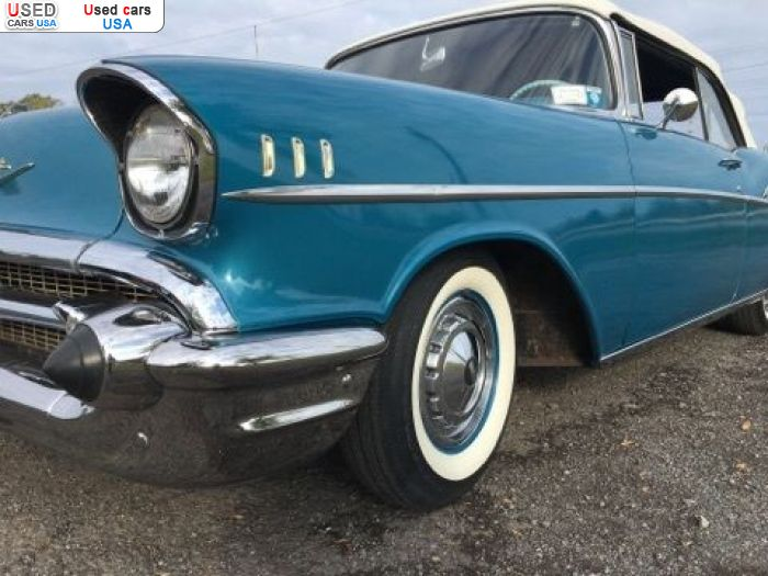 Car Market in USA - For Sale 1957  Chevrolet Bel Air