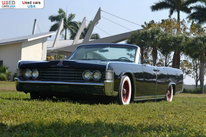 Car Market in USA - For Sale 1965  Lincoln Continental