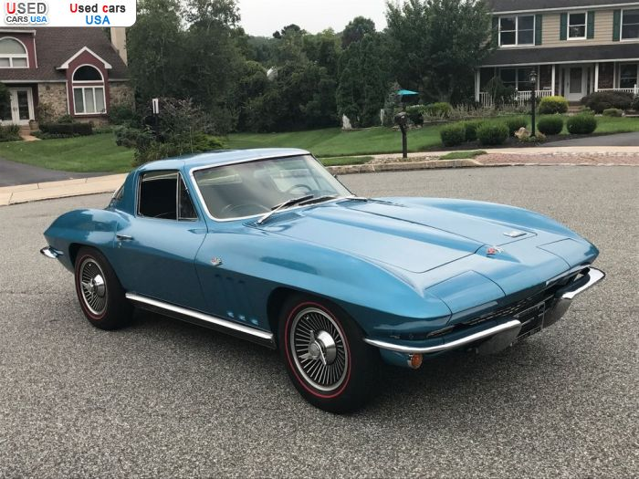 Car Market in USA - For Sale 1966  Chevrolet Corvette