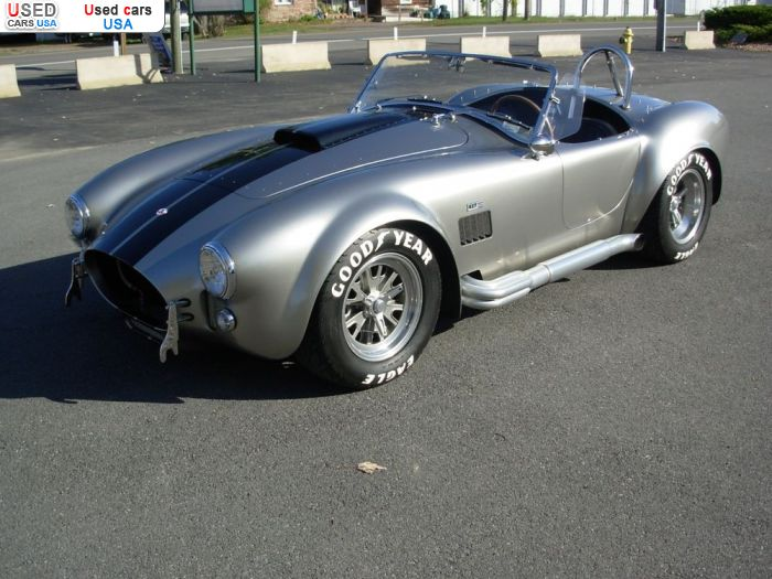 Car Market in USA - For Sale 1965  Shelby Cobra