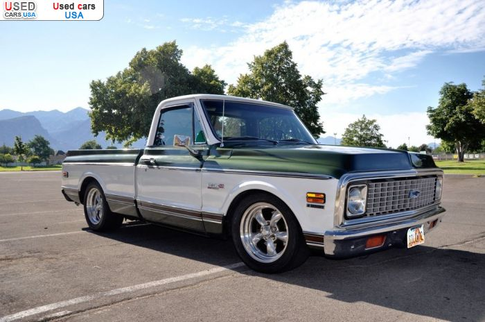 Car Market in USA - For Sale 1972  Chevrolet C 10