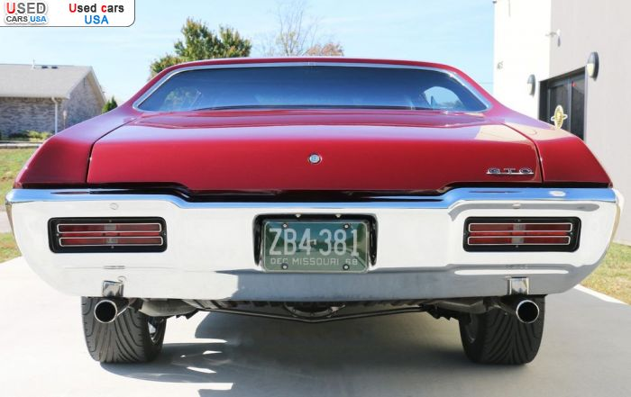 Car Market in USA - For Sale 1968  Pontiac GTO