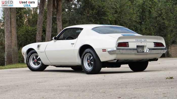 Car Market in USA - For Sale 1972  Pontiac Trans Am