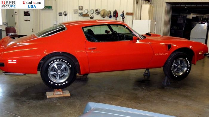 Car Market in USA - For Sale 1974  Pontiac Trans Am