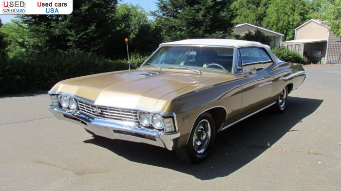 Car Market in USA - For Sale 1967  Chevrolet Impala