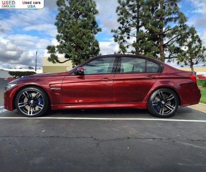 Car Market in USA - For Sale 2015  BMW M3