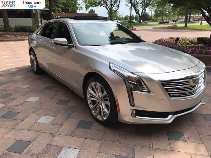 For Sale 2016 Passenger Car Cadillac CT6, Mears, Insurance