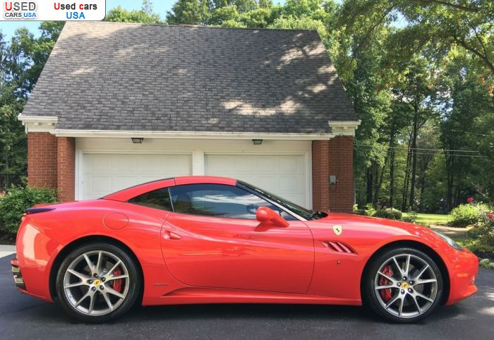 Car Market in USA - For Sale 2012  Ferrari California