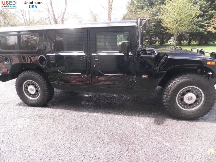 Car Market in USA - For Sale 2002  Hummer H1