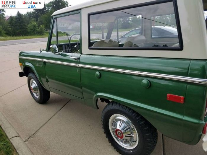 For Sale 1974 passenger car Ford Bronco, South Branch ...