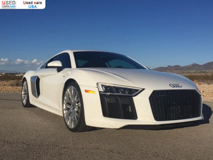 Car Market in USA - For Sale 2017  Audi R8