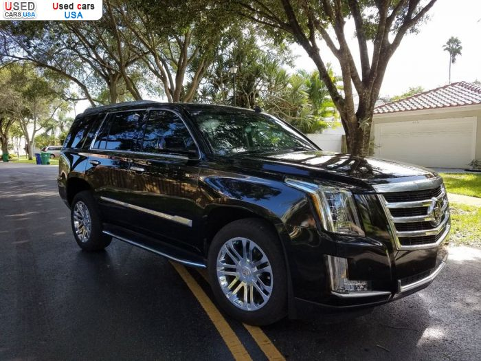 Car Market in USA - For Sale 2015  Cadillac Escalade