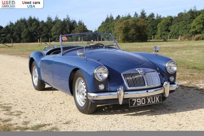 Car Market in USA - For Sale 1959  MG MGA