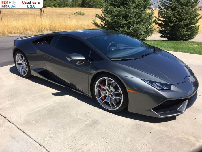 Car Market in USA - For Sale 2015  Lamborghini Huracan