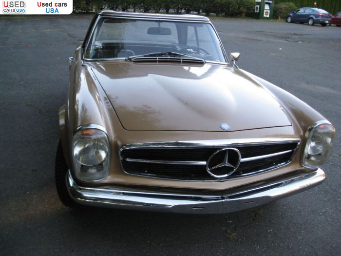 Car Market in USA - For Sale 1968  Mercedes