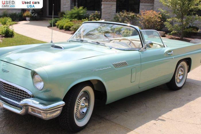 Car Market in USA - For Sale 1957  Ford Thunderbird