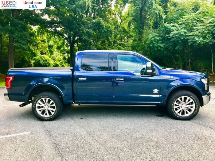 Car Market in USA - For Sale 2016  Ford F 150