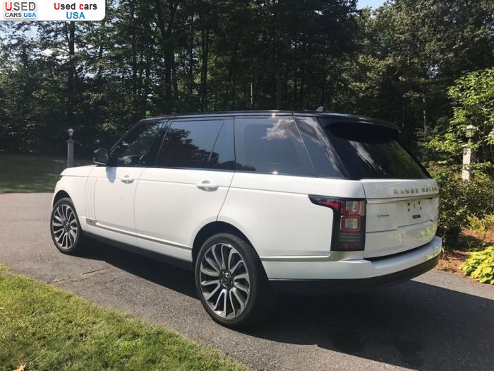 Car Market in USA - For Sale 2016  Land Rover Range Rover