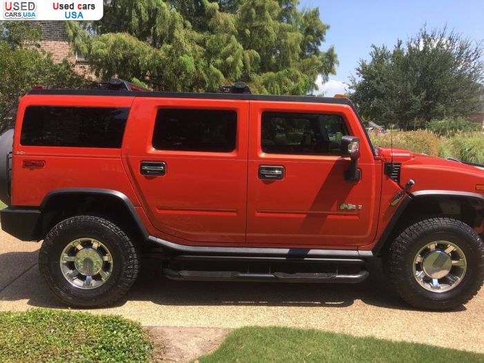 Car Market in USA - For Sale 2008  Hummer H2
