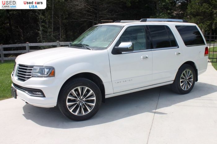 Car Market in USA - For Sale 2016  Lincoln Navigator