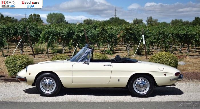 Car Market in USA - For Sale 1969  Alfa Romeo Spider