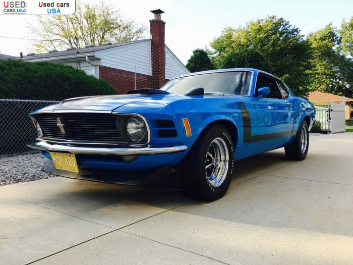 Car Market in USA - For Sale 1970  Ford Mustang