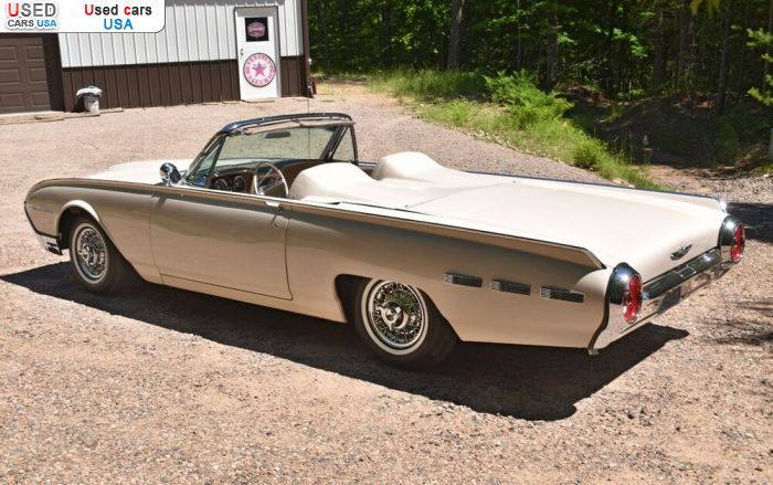 Car Market in USA - For Sale 1962  Ford Thunderbird