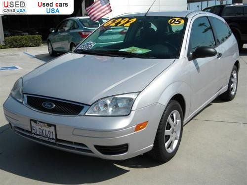 for sale 2005 passenger car ford focus zx3 tustin. Black Bedroom Furniture Sets. Home Design Ideas